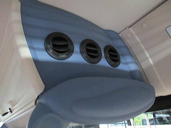 Un maximum de confort à bord